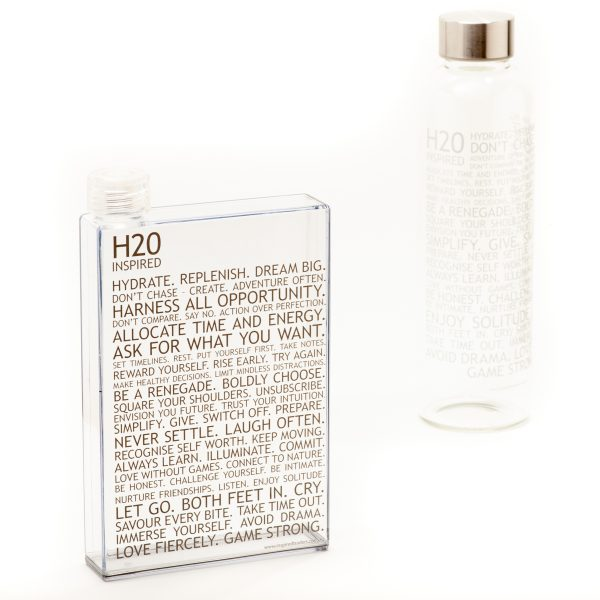 Inspired H20 – Notebook Bottle