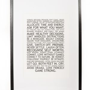 Manifesto Print
